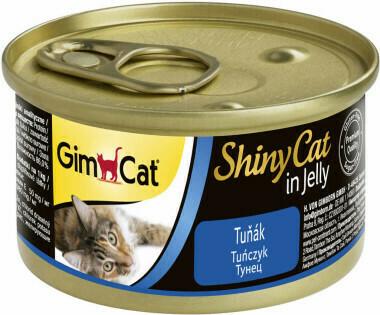 GimCat ShinyCat конс д/кошек из тунца 70 г