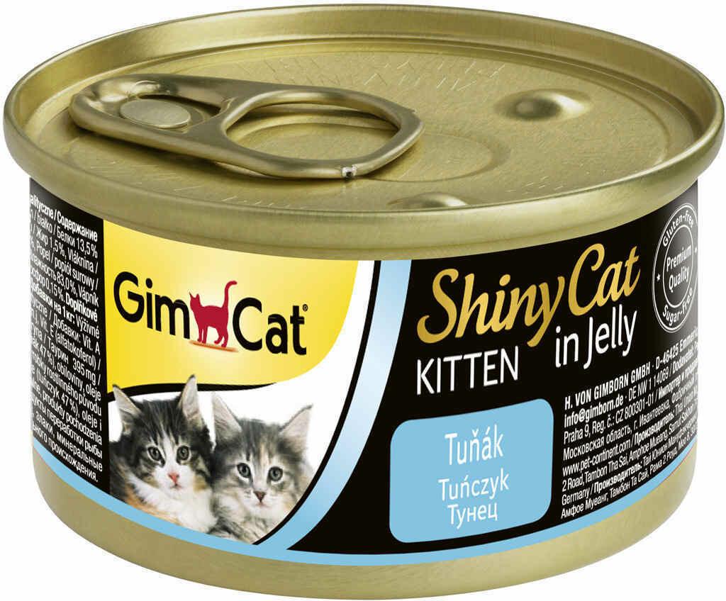 GimCat ShinyCat конс д/котят из тунца 70 г