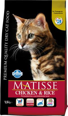 Matisse Cat д/кошек курица рис 1,5 кг