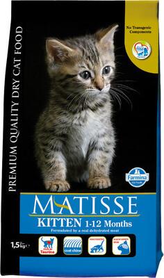Matisse Kitten д/котят курица 1,5 кг
