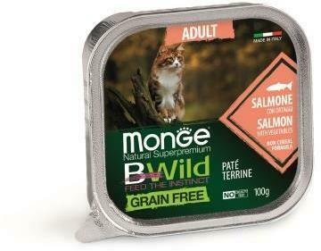Monge Cat BWild GF конс д/кошек лосось 100 г
