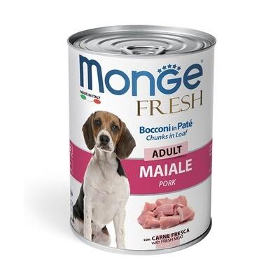 Monge Dog Fresh Chunks конс д/собак свинина 400 г