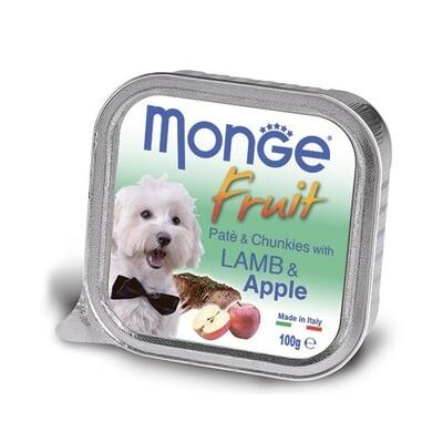 Monge Dog Fruit конс д/собак Ягненок с яблоком 100 г