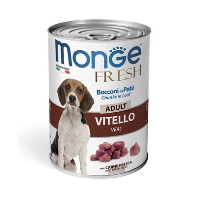 Monge Dog Fresh Chunks конс д/собак телятина 400 г