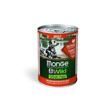 Monge Dog BWild GF конс д/собак индейка 400 г
