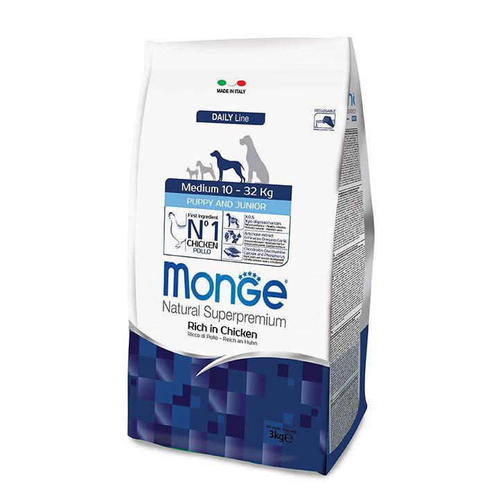 Monge Dog Medium Puppy д/щенков средних 12 кг