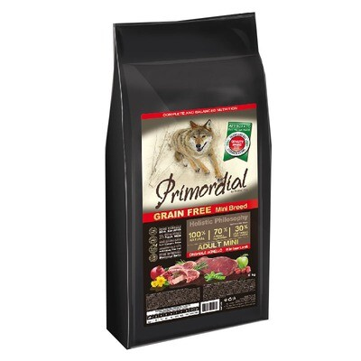 Primordial корм д/собак Мини кабан/ягненок 2 кг