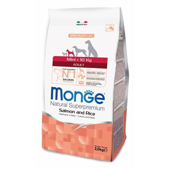 Monge Dog Speciality Mini д/собак мелких лосось 2,5 кг