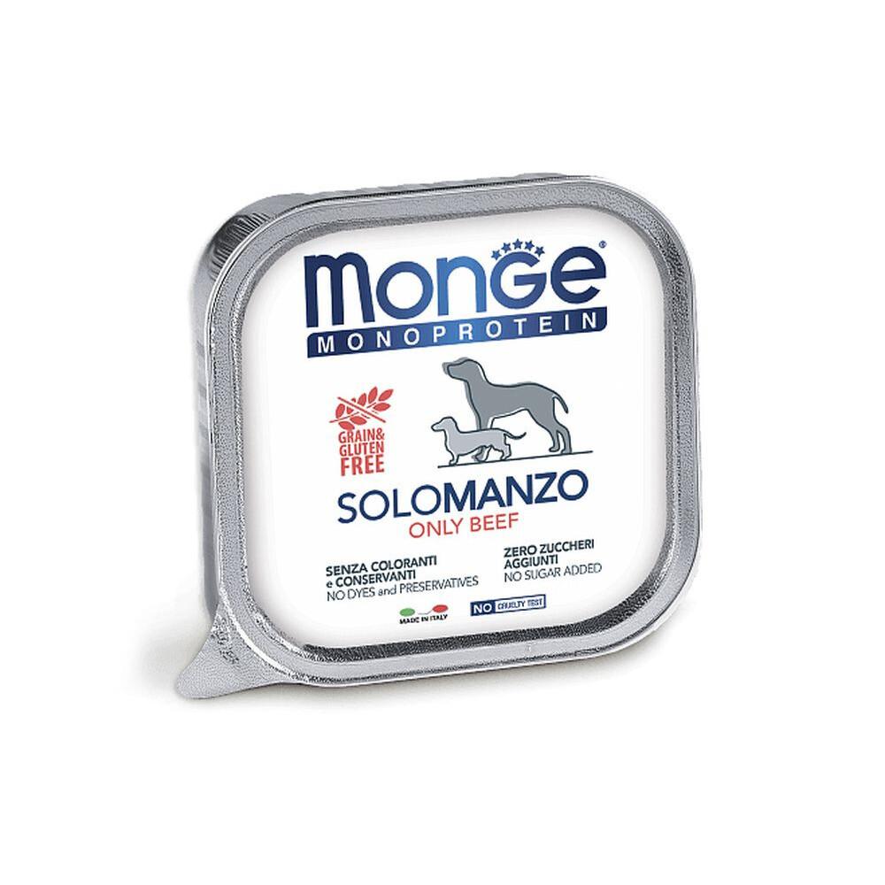 Monge Dog Monoprotein Solo конс д/собак Говядина паштет 150 г