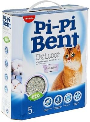 Наполнитель Pi-Pi Bent DeLuxe Cotton комкующийся 5 кг