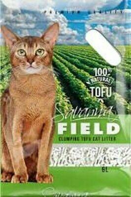 Наполнитель Savanna Field Tofu соевый комкующийся 6 л *6 шт