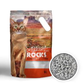 Наполнитель Savanna Rocks без запаха комкующийся 3,8 кг *6 шт