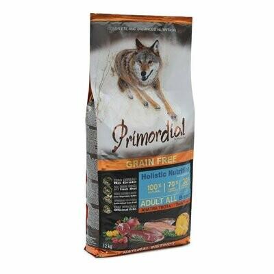 Primordial корм д/собак форель/утка 12 кг