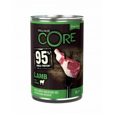 Core 95 Dog конс д/собак ягненок тыква 400 г