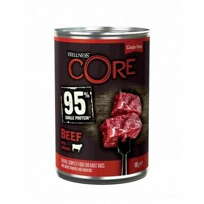 Core 95 Dog конс д/собак говядина брокколи 400 г