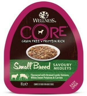 Core Small Breed конс д/мелких баранина оленина 85 г