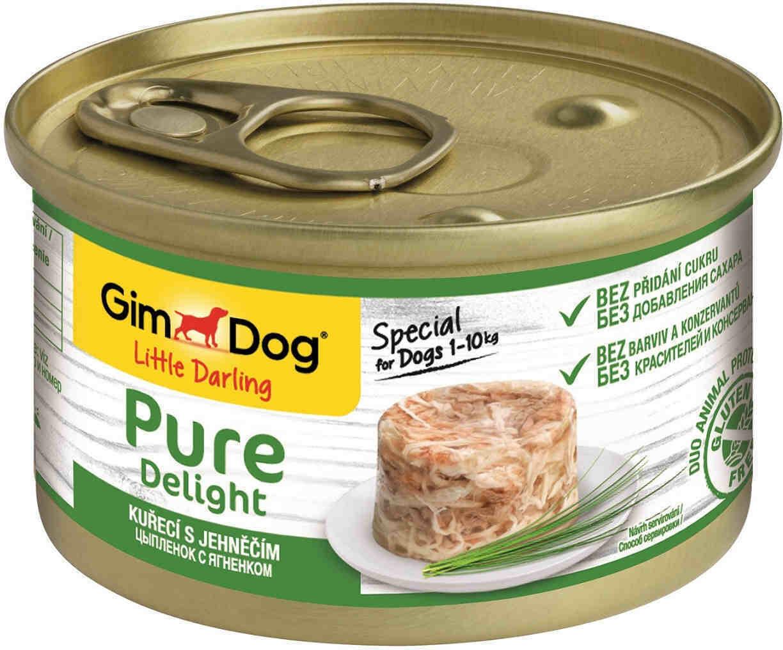 GimDog Pure конс д/собак цыпленок ягненок 85 г