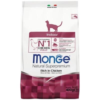 Monge Cat Indor д/кошек домашних 400 г