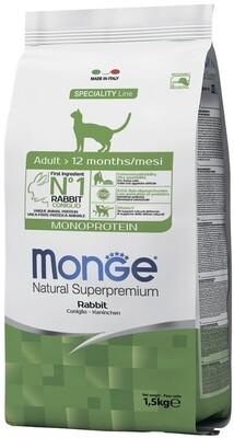 Monge Cat Speciality д/кошек кролик 1,5 кг