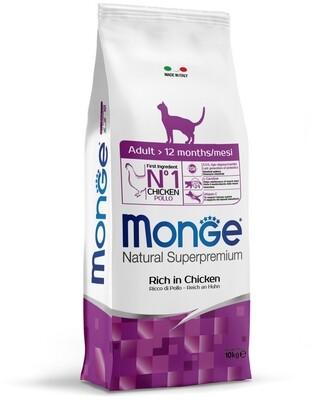Monge Cat Adult д/кошек взрослых 10 кг
