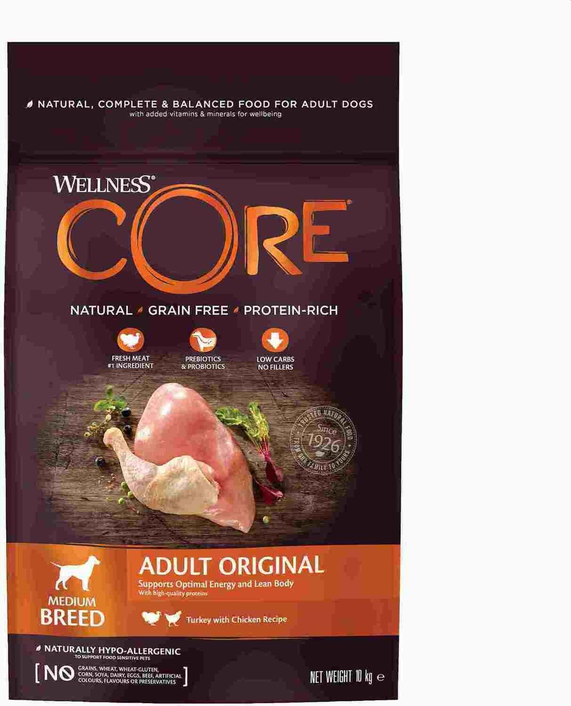 Core Dog Medium д/средних индейка курица 10 кг
