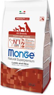 Monge Dog Speciality Puppy Junior д/щенков ягненок 2,5 кг