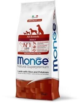 Monge Dog Speciality д/собак ягненок 12 кг