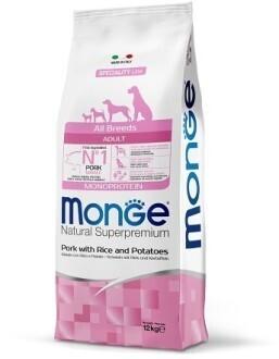Monge Dog Speciality д/собак свинина 12 кг