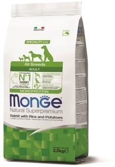 Monge Dog Speciality д/собак всех пород кролик 2,5 кг