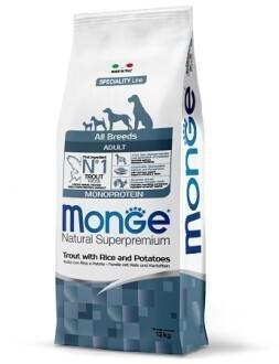 Monge Dog Speciality д/собак форель 12 кг