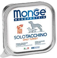 Monge Dog Monoprotein Solo конс д/собак Индейка паштет 150 г