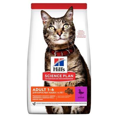 Hill's SP Feline д/кошек оптимальный уход Утка 1,5 кг