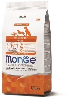 Monge Dog Speciality д/собак утка 2,5 кг