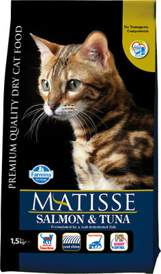 Matisse Cat д/кошек лосось тунец 1,5 кг