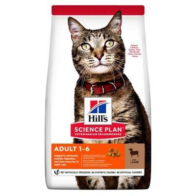 Hill's SP Feline д/кошек оптимальный уход Ягненок 1,5 кг