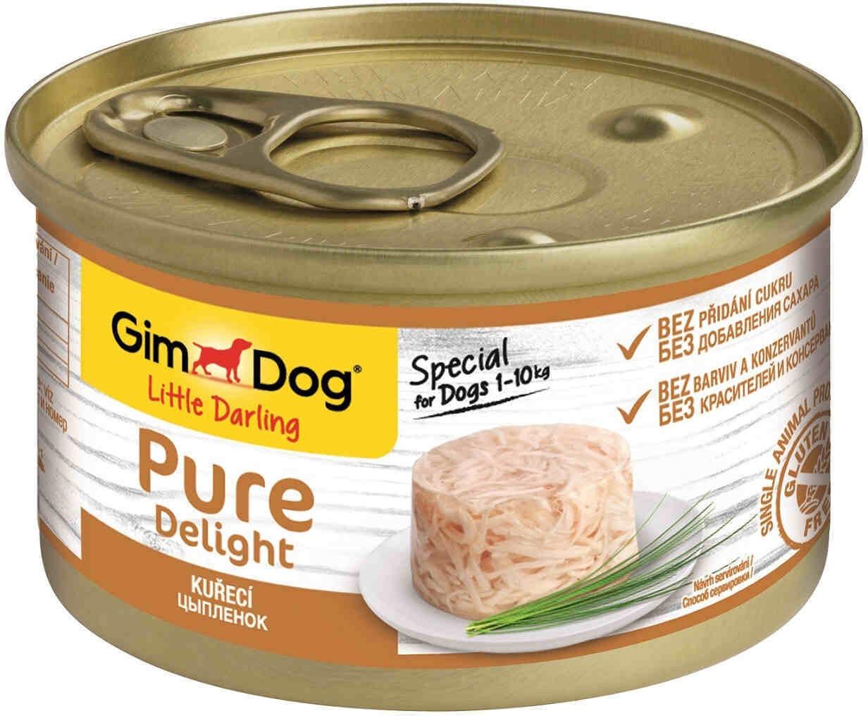 GimDog Pure конс д/собак цыпленок 85 г