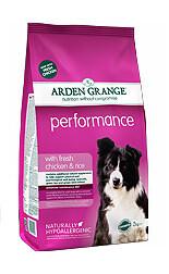 AG Dog Performance д/собак активных курица рис 12 кг