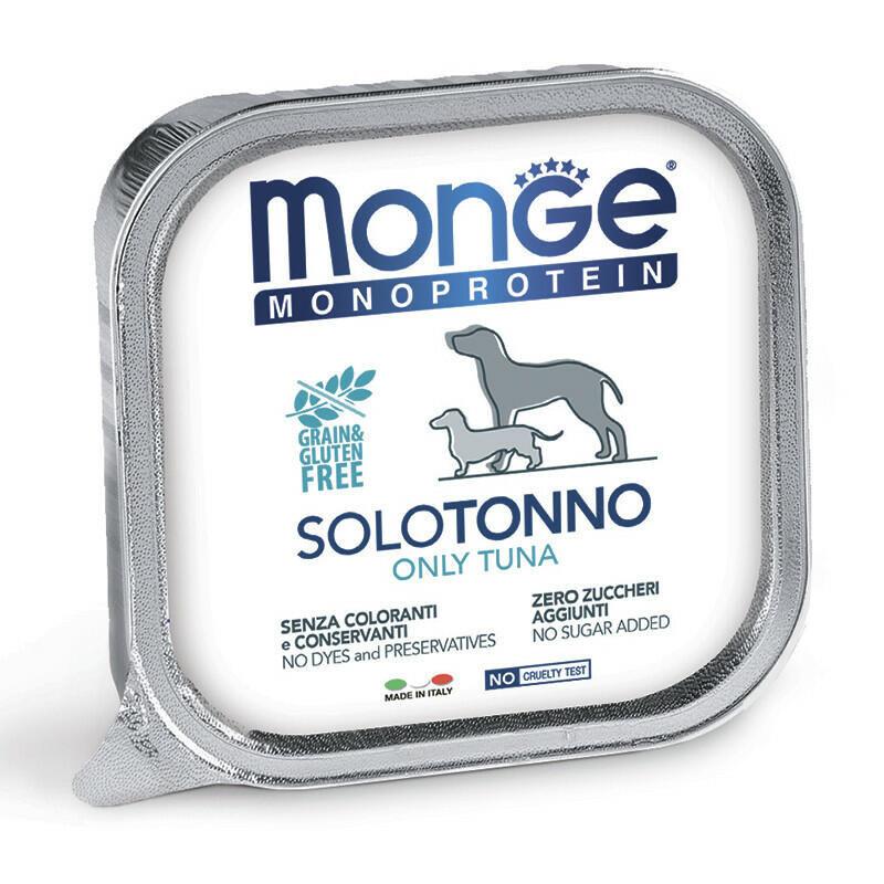 Monge Dog Monoprotein Solo конс д/собак Тунец паштет 150 г