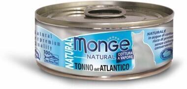 Monge Cat Natural конс д/кошек атлантический тунец 80 г