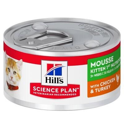 Hill's SP Kitten конс д/котят нежный мусс 82 г