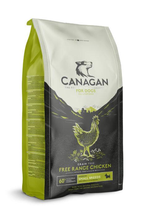 Canagan GF Free Range Chicken д/собак мелких цыпленок 2 кг
