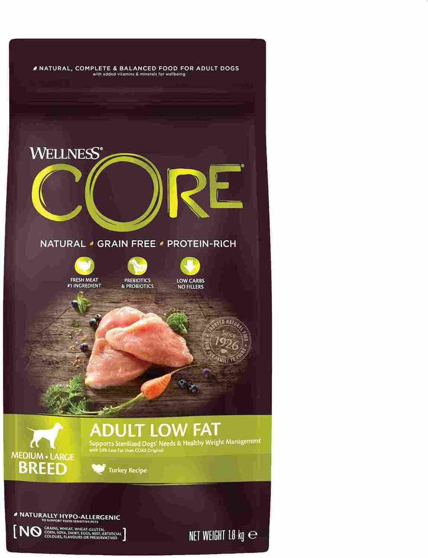Core Dog Low Fat д/собак индейка курица обезжиренный 1,8 кг