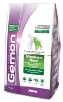 Gemon Dog Medium д/собак средних ягненок 15 кг