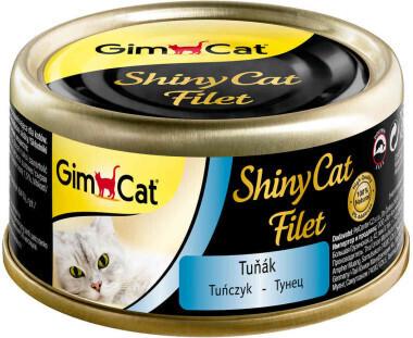 GimCat ShinyCat Filet конс д/кошек из тунца 70 г