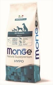 Monge Dog Speciality Hypoallergenic д/собак гипоаллергенный лосось 12 кг