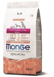 Monge Dog Speciality Extra Small д/собак миниатюрных лосось 2,5 кг