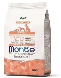 Monge Dog Speciality Puppy д/щенков всех пород лосось 800 г