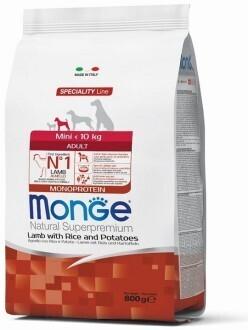 Monge Dog Speciality Mini д/собак мелких ягненок  800 г
