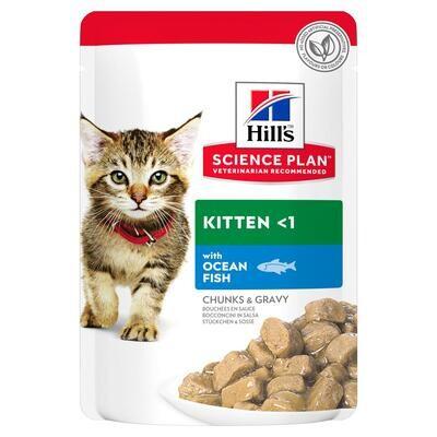 Hill's SP Kitten пауч д/котят Океаническая рыба 85 г