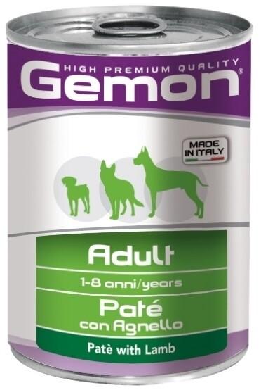 Gemon Dog конс д/собак ягненок паштет 400 г